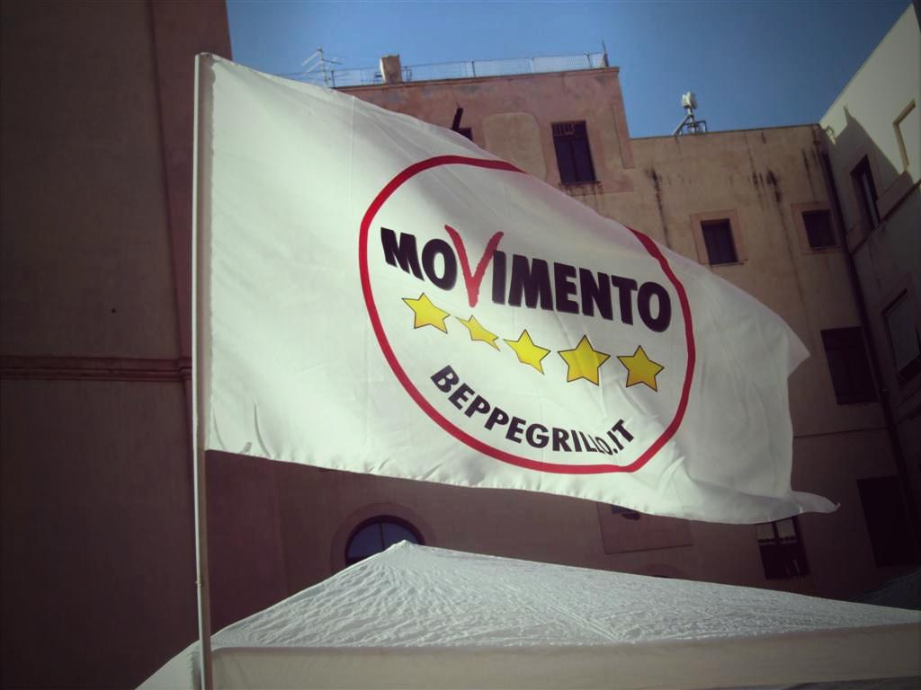 Bandiera Movimento 5 Stelle